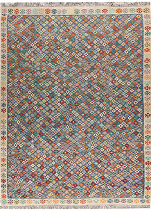 Multi Colored Kilim 9' 2 x 12' - No. 66986