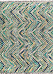 Multi Colored Kilim 9' 2 x 11' 10 - No. 66990