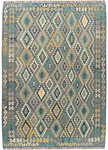 Multi Colored Kilim 8' 3 x 11' 5 - No. 66997