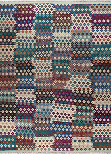 Multi Colored Kilim 10' 1 x 12' 11 - No. 66998