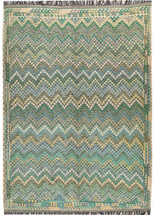 Multi Colored Kilim 8' 7 x 11' 10 - No. 67000