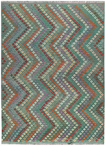 Multi Colored Kilim 8' 3 x 11' 3 - No. 67005