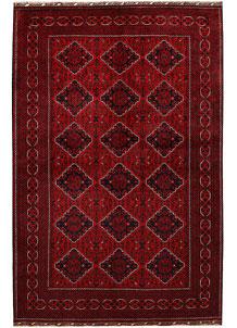 Dark Red Khal Mohammadi 6' 7 x 9' 10 - No. 67028