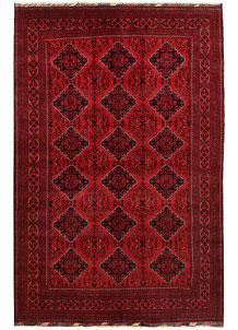 Dark Red Khal Mohammadi 6' 8 x 10' 2 - No. 67034