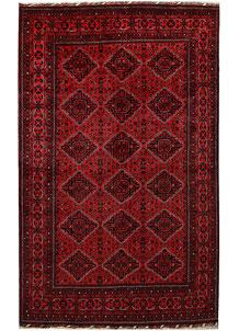 Dark Red Khal Mohammadi 6' 4 x 9' 10 - No. 67046