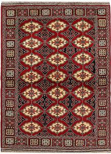 Dark Red Khal Mohammadi 4' 9 x 6' 4 - No. 67061