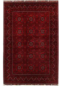Dark Red Khal Mohammadi 6' 9 x 10' - No. 67066
