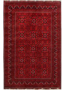 Dark Red Khal Mohammadi 6' 5 x 9' 10 - No. 67072
