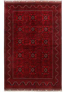Dark Red Khal Mohammadi 6' 7 x 9' 11 - No. 67074