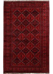 Dark Red Khal Mohammadi 6' 5 x 9' 10 - No. 67107