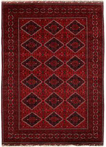 Dark Red Khal Mohammadi 6' 6 x 9' 11 - No. 67145