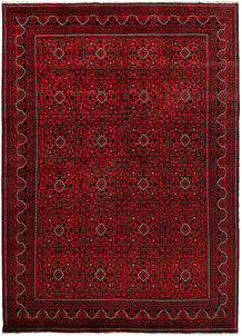 Dark Red Khal Mohammadi 7' 10 x 11' 1 - No. 67153