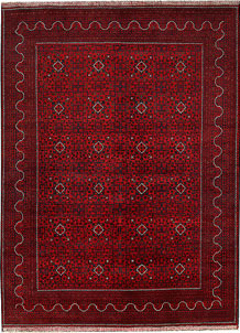 Dark Red Khal Mohammadi 8' 2 x 11' 3 - No. 67155