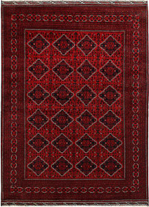 Dark Red Khal Mohammadi 8' 2 x 10' 11 - No. 67159
