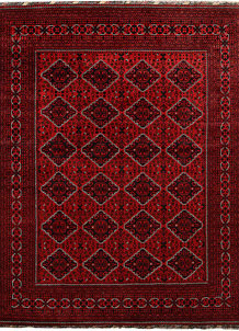 Dark Red Khal Mohammadi 8' 1 x 10' 8 - No. 67163