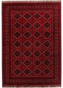 Dark Red Khal Mohammadi 8' 2 x 11' 6 - No. 67165