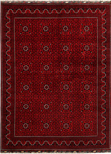 Dark Red Khal Mohammadi 8' 2 x 10' 11 - No. 67166