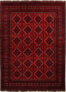 Dark Red Khal Mohammadi 8' 2 x 10' 11 - No. 67168