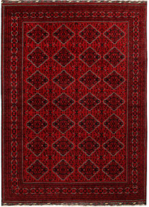 Dark Red Khal Mohammadi 8' 1 x 11' 1 - No. 67173