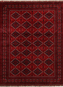 Dark Red Khal Mohammadi 8' 1 x 10' 11 - No. 67177