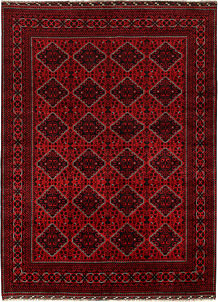Dark Red Khal Mohammadi 8' 2 x 10' 11 - No. 67180