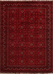 Dark Red Khal Mohammadi 8' 1 x 11' 1 - No. 67184