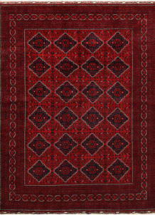 Dark Red Khal Mohammadi 8' 2 x 10' 11 - No. 67187
