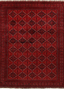 Dark Red Khal Mohammadi 9' 9 x 12' 8 - No. 67190