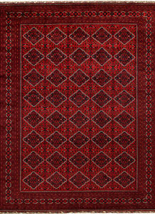 Dark Red Khal Mohammadi 9' 10 x 12' 7 - No. 67193