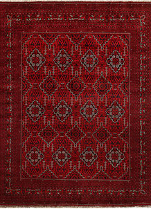 Dark Red Khal Mohammadi 9' 9 x 12' 6 - No. 67194