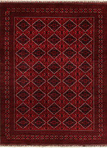 Dark Red Khal Mohammadi 9' 9 x 13' - No. 67197
