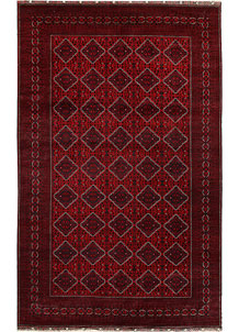 Dark Red Khal Mohammadi 9' 9 x 16' - No. 67205