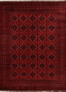 Dark Red Khal Mohammadi 9' 7 x 12' 8 - No. 67206