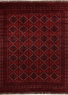 Dark Red Khal Mohammadi 9' 10 x 11' 10 - No. 67207