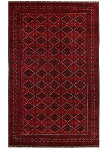 Dark Red Khal Mohammadi 9' 9 x 16' - No. 67208