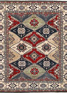 Firebrick Kazak 8' x 8' 11 - No. 67210