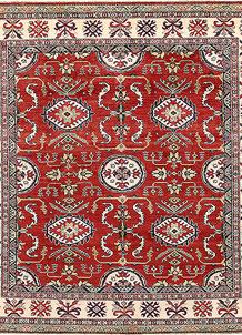 Firebrick Kazak 7' 10 x 9' 1 - No. 67212