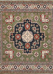Firebrick Kazak 9' 7 x 9' 9 - No. 67239