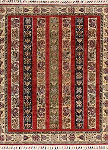 Multi Colored Kazak 4' 10 x 5' 8 - No. 67256