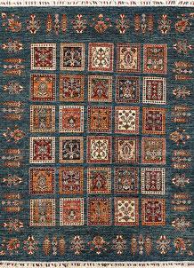Multi Colored Kazak 5' 2 x 6' 10 - No. 67265