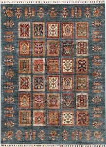Multi Colored Kazak 4' 10 x 6' 8 - No. 67267