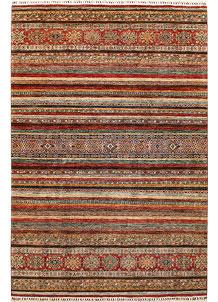 Multi Colored Kazak 6' 9 x 10' 2 - No. 67286
