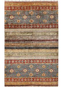 Multi Colored Kazak 6' 6 x 10' - No. 67287