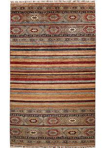 Multi Colored Kazak 6' 4 x 10' 6 - No. 67309