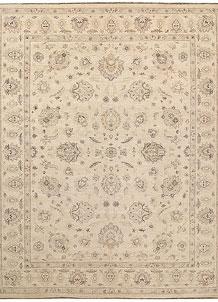 Antique White Oushak 9' x 11' 8 - No. 67350