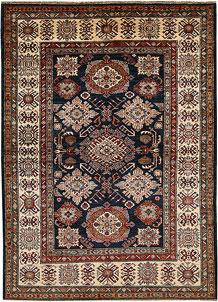 Dark Blue Kazak 4' 11 x 6' 8 - No. 67369