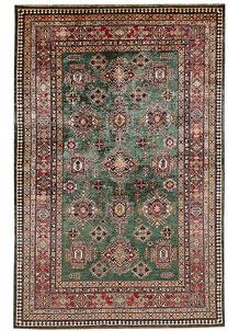 Darkgreen Kazak 5' 9 x 8' 9 - No. 67370