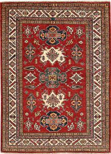 Firebrick Kazak 4' 11 x 6' 8 - No. 67417