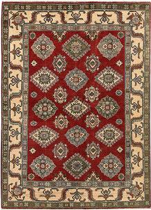Firebrick Kazak 4' 10 x 6' 9 - No. 67421