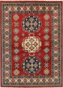 Firebrick Kazak 5' x 6' 7 - No. 67428
